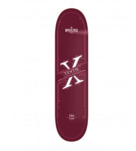 Tabla skate BD  X Anniversary Burgundy