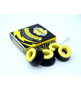 Gomas DCore BDskateCo White Yellow 95A