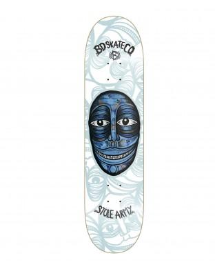 TAbla skate BD Artist Series - Stole Army- White model