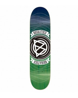 BD DECK EPOXY WAVES PURPLE/GREEN