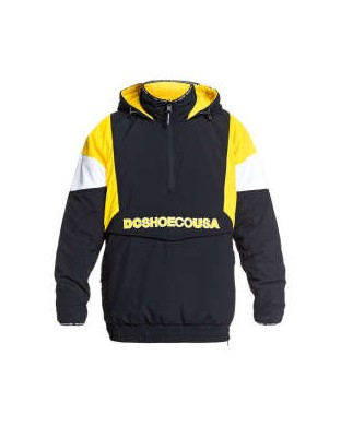 CAZADORA DC TRANSITION REVERSIBLE ANORAK AMARILLO