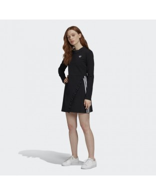 VESTIDO ADIDAS LS DRESS NEGRO